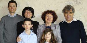 Famille Sylvie Michel enfants et petits enfants