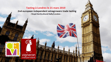 Tasting 2019 à Londres : European Confederation of Independent Wine Grower