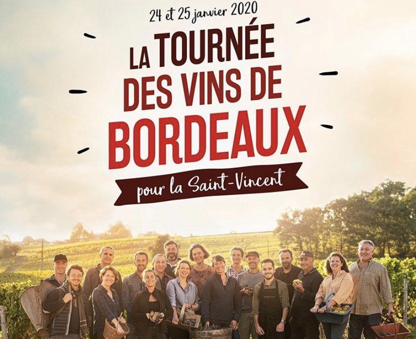 La Tournée des vins de Bordeaux !