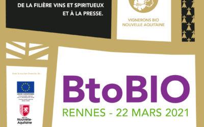 [SALON] 2NDE EDITION / Rencontres des Vignerons BIO de Nouvelle-Aquitaine